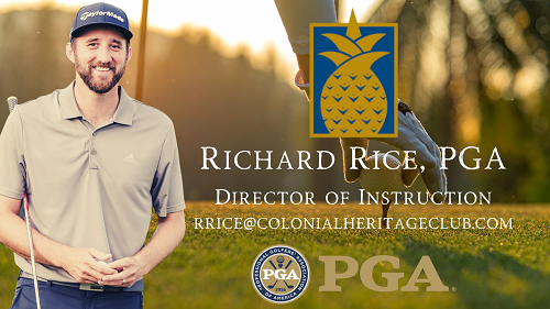 Richard Rice PGA - Lessons at Colonial Heritage