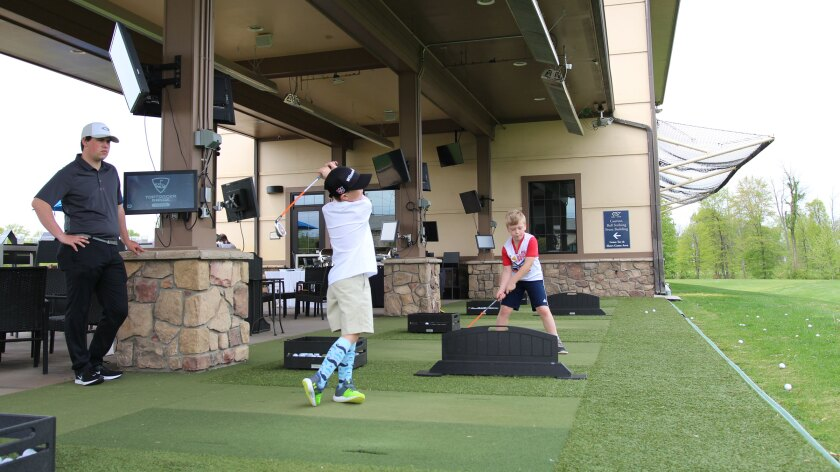 1757 Golf Club, Toptracer Golf Lessons, Northern Virginia