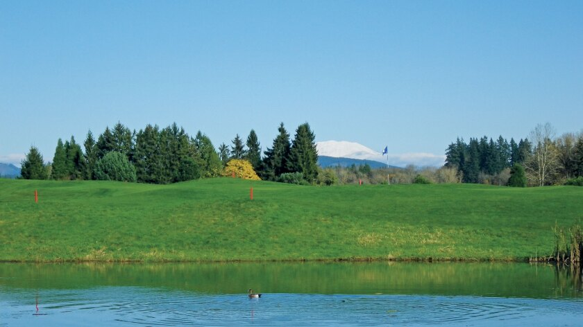 Tri-Mountain Golf Course, Ridgefield Washington