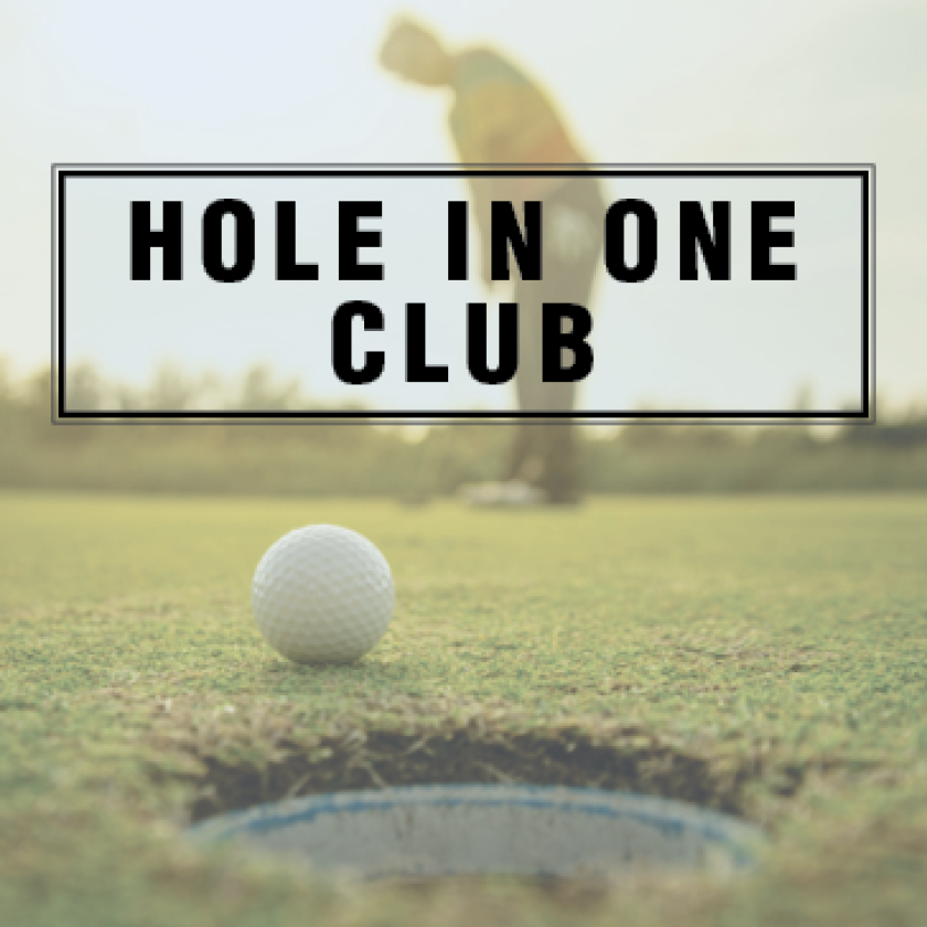 Brentwood hole in one club