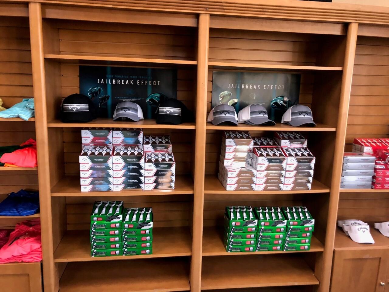golf shop at Hyatt Hills Golf Complex