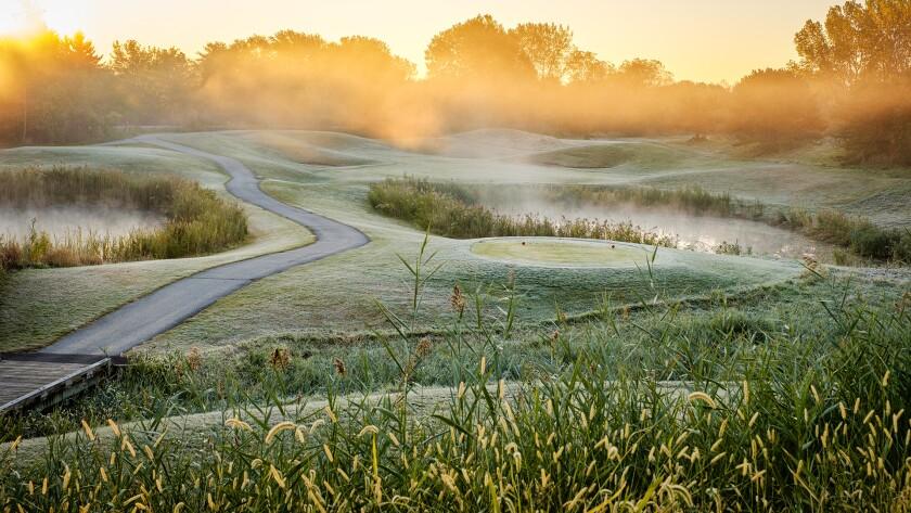Centennial Park Golf Course in Munser, IN