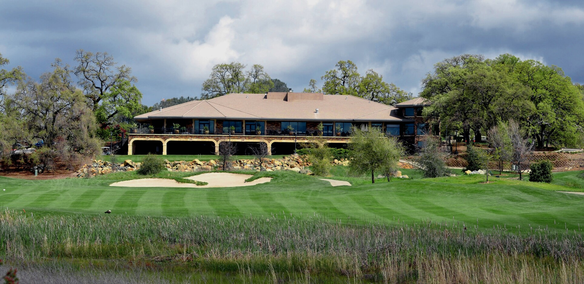 clubhouse at The Ridge Golf Course & Events Center