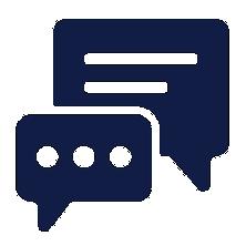 contact us icon - feedback survey