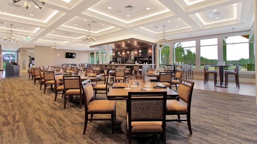 The Grille at Magnolia Green, Dining + Bar Area, High Tops, Restaurants Near Richmond, VA