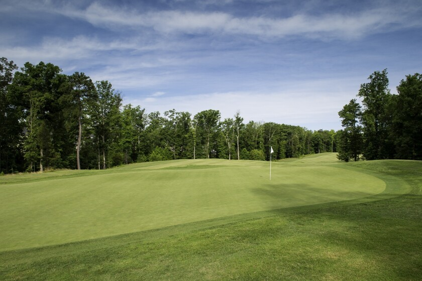 Magnolia Green Golf Club, Hole 13, Richmond VA Golf Course
