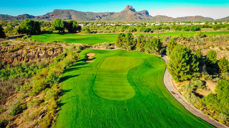 Quarry Pines Golf Club drone shots