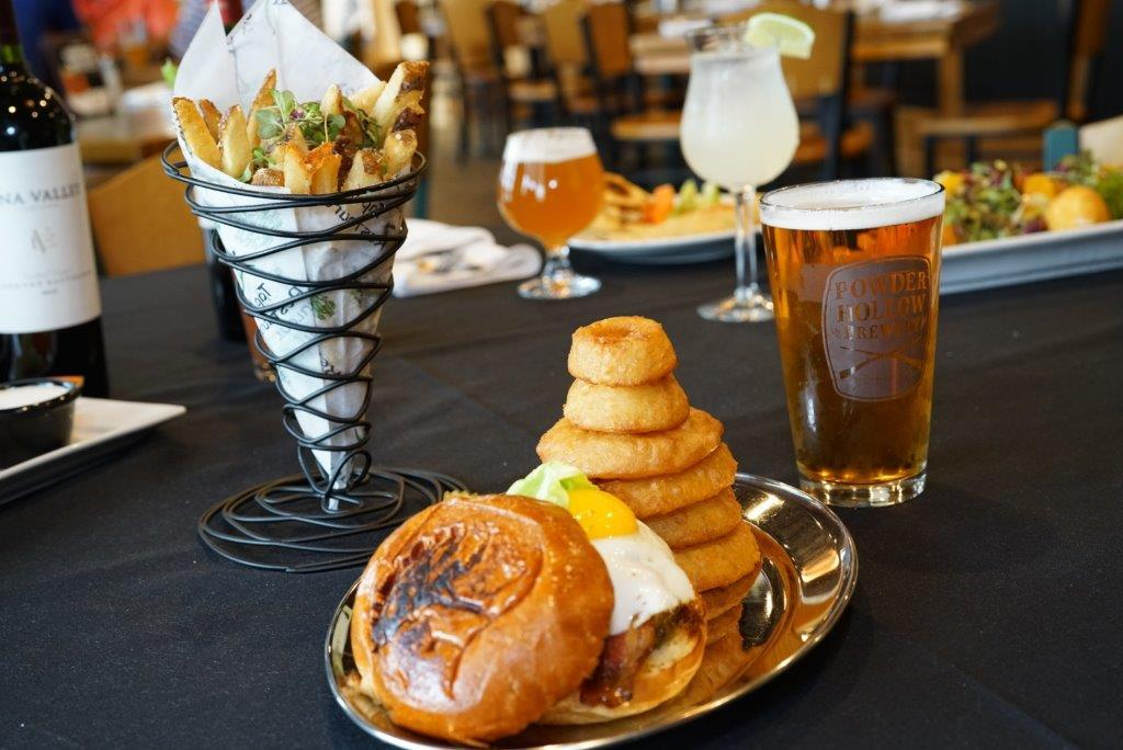 food and beverage at The Tap Inn restaurant