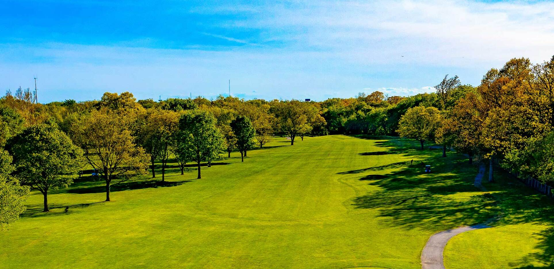 Billy Caldwell Golf Course Drone Photography