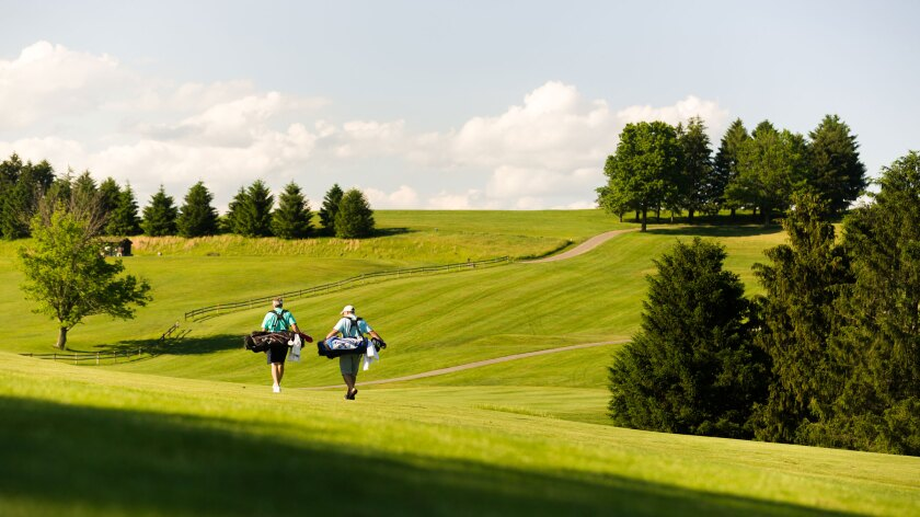 Oglebay Golf Resort, Wheeling West Virginia