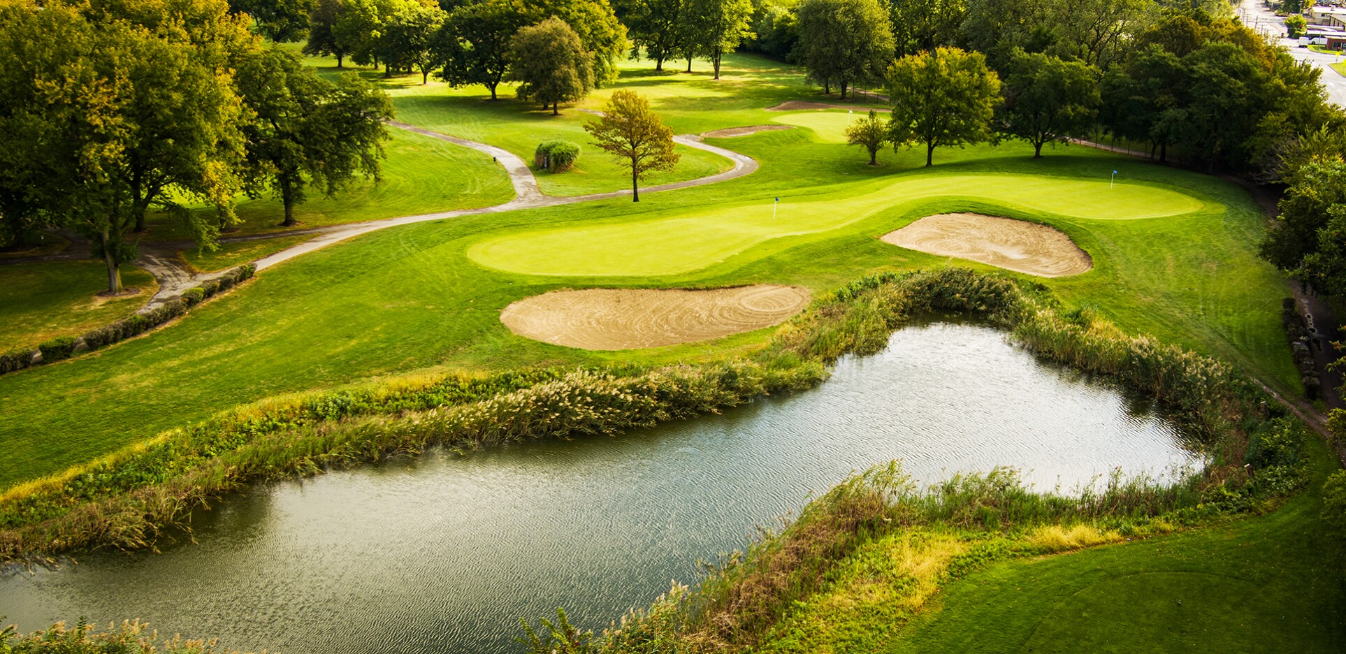 Joe Louis Golf Course in Riverdale, Illinois