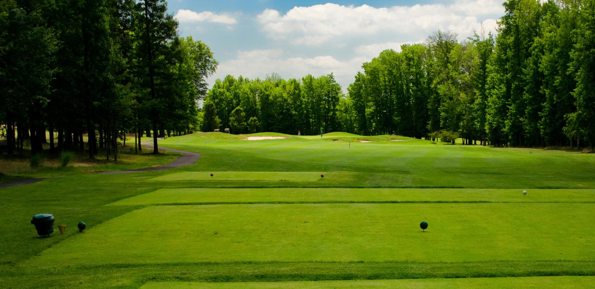 Hole 5 at Hyatt Hills Golf Complex