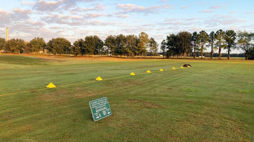 Practice facility at Arlington Ridge Golf Club