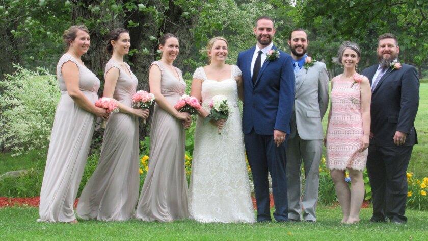 The Windham Club, North Windham Wedding Venue, Wedding Party