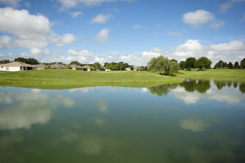 golf course at Arlington Ridge