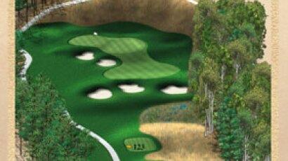 Brickshire Golf Club - golf course description for hole 4