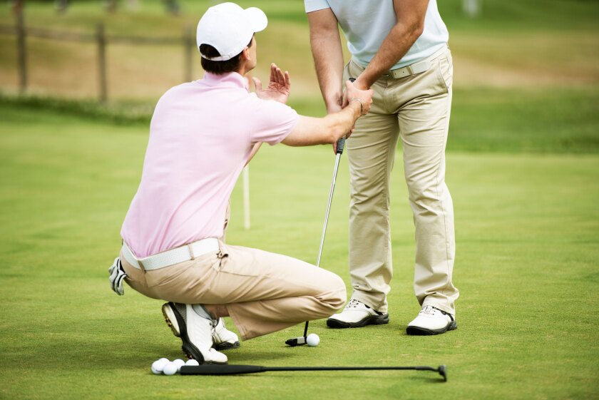 Golf Lessons Putting