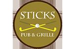 Sticks Pub & Grille Logo