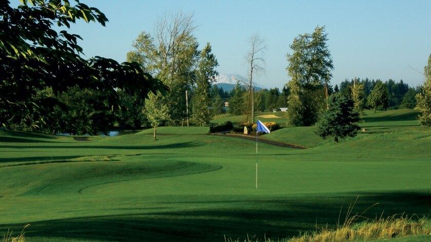 Tri-Mountain Golf Course, Ridgefield, Washington