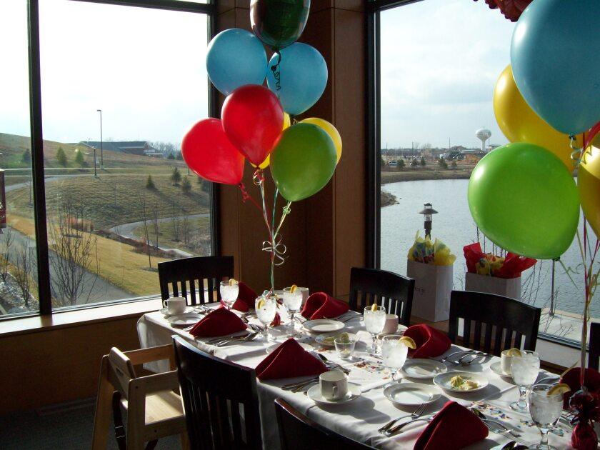 Restaurant Birthday Banquet Party at Centennial Park