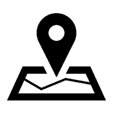 maps directions or address icon