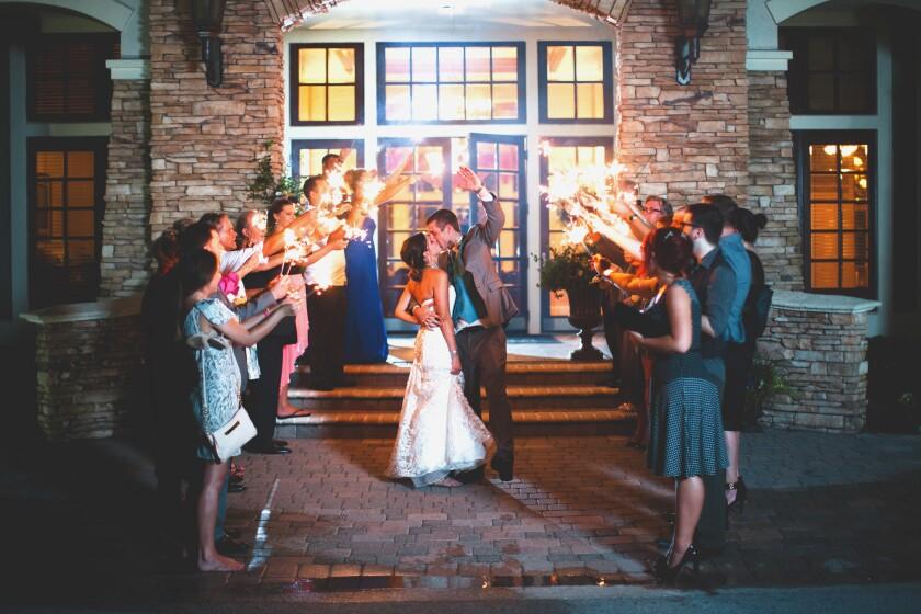 St. Johns Wedding Exit