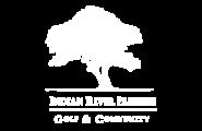 Indian River Preserve White Logo