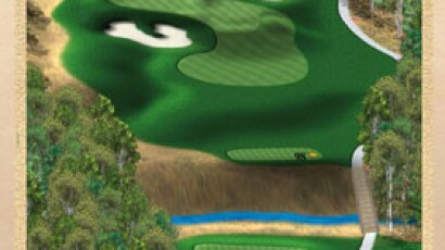 Brickshire Golf Club - golf course description for hole 13