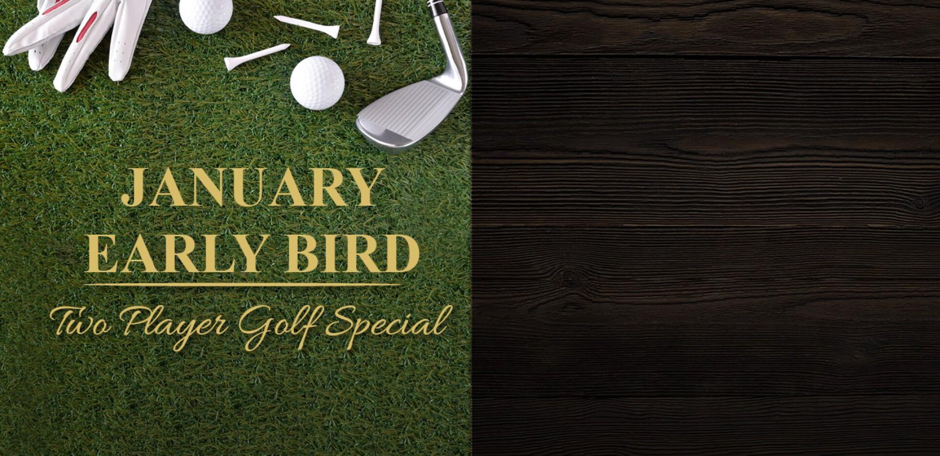January Early Bird Special WMH