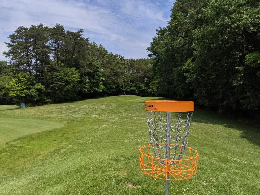 Disc Golf at