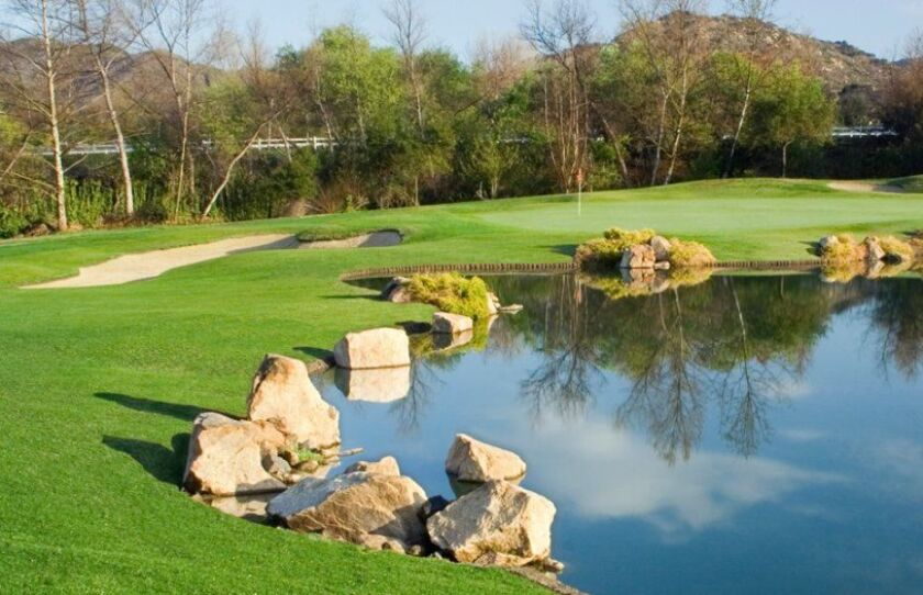 Eagle Crest Golf Club Rocky Pond in Escondido, California