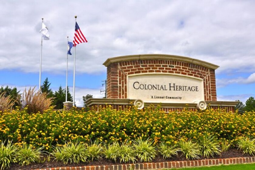 Colonial Heritage Club in Williamsburg, Virginia