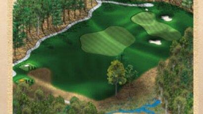 Brickshire Golf Club - golf course description for hole 15
