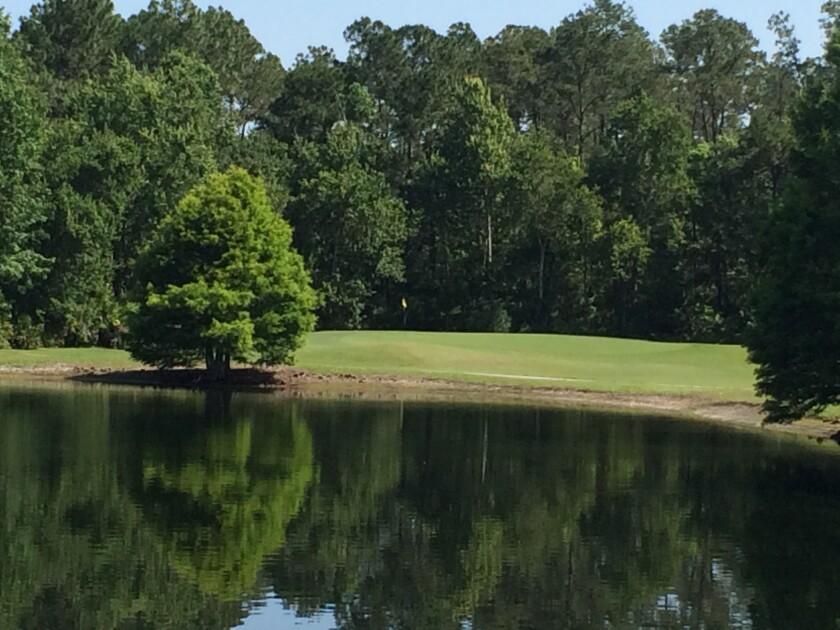 Fairways Golf Club - Green overlooking water