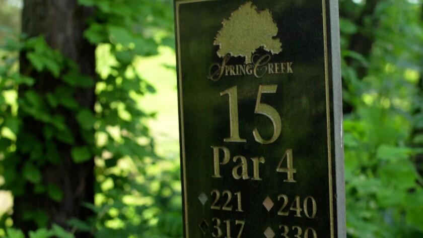 Spring Creek Golf Club, Hole 15