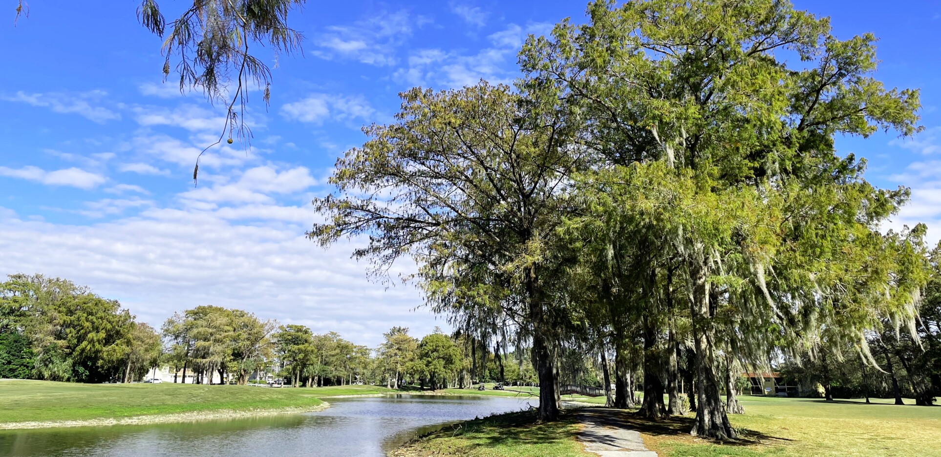 Lake view at Colony West Golf Club in Tamarac, Florida