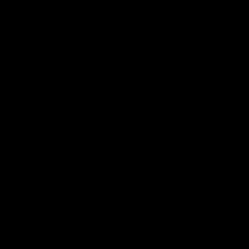 black fork knife icon