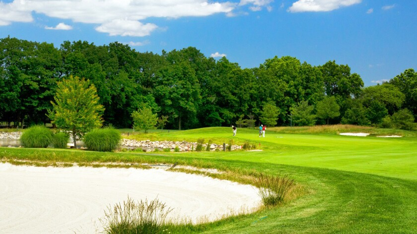 hole 6 at Hyatt Hills Golf Course