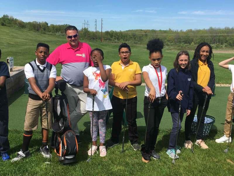 Middle School golf Clinics at Wintonbury