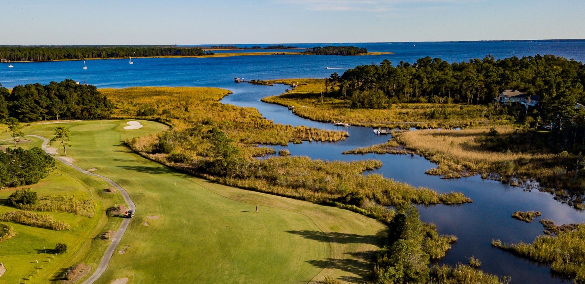 Harbour Pointe Golf Club, Aerial View