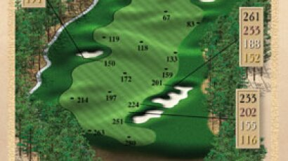 Brickshire Golf Club - golf course description for hole 2