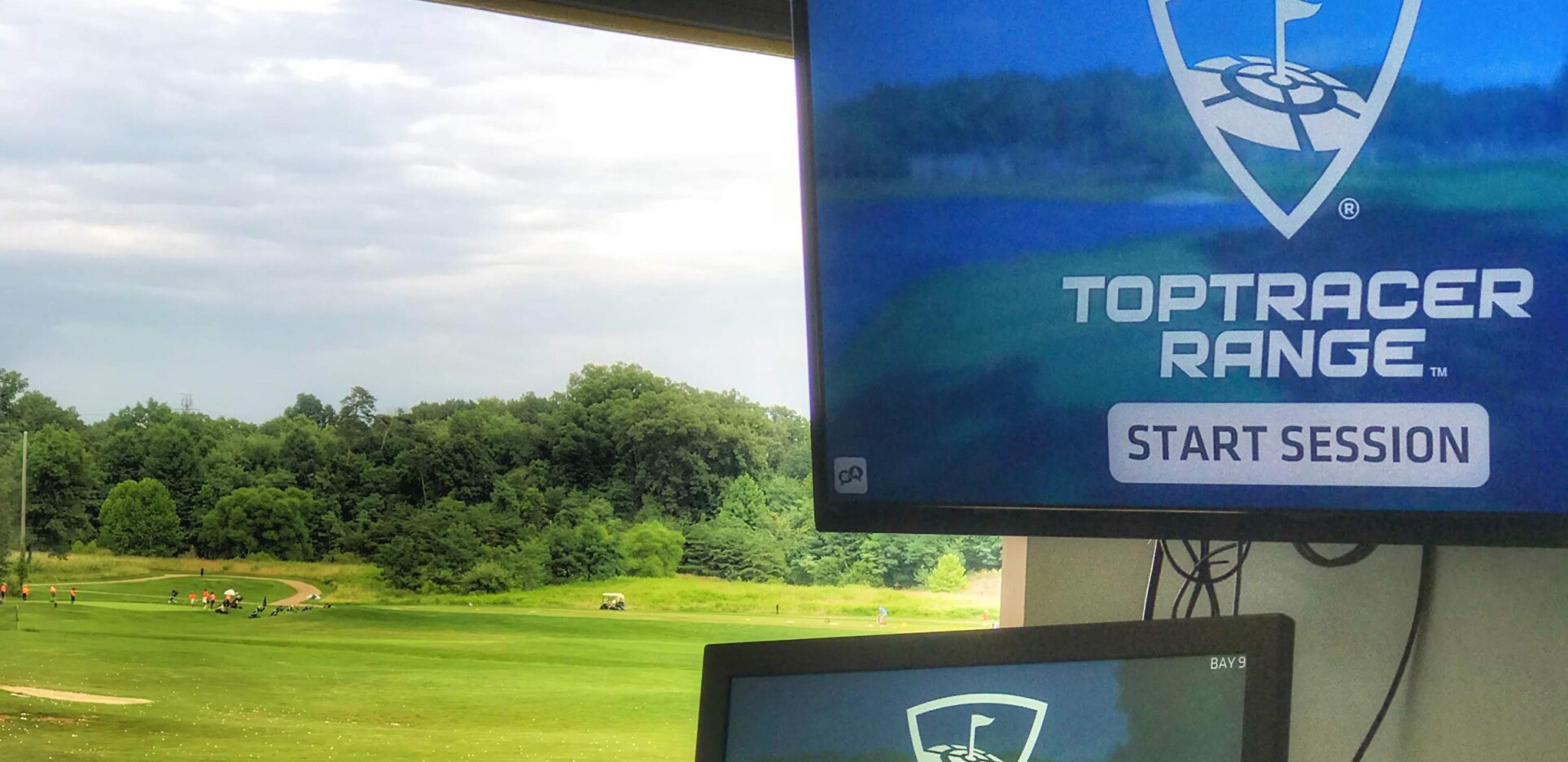 Toptracer Technology at 1757 Golf Club, Northern Virginia