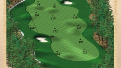 Brickshire Golf Club - golf course description for hole 7