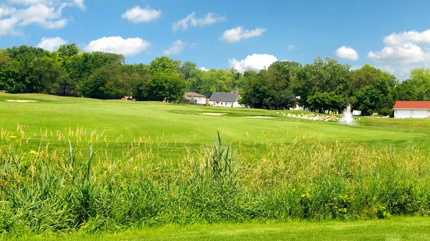 Water's Edge Golf Club, Hole 18
