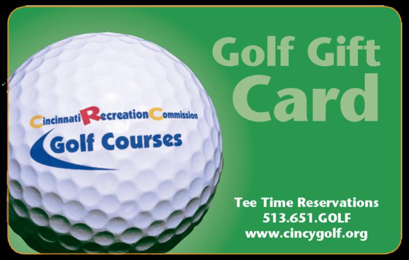 CRC Golf Gift Card