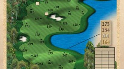 Brickshire Golf Club - golf course description for hole 18