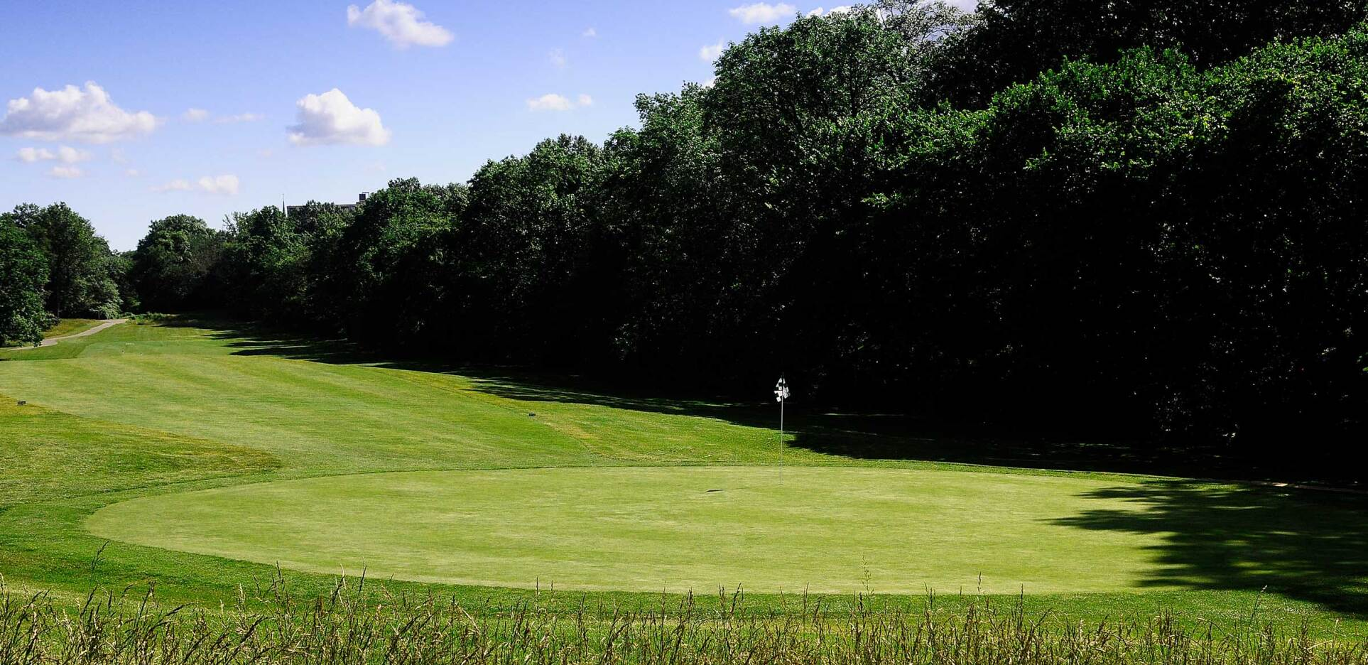 Ed Oliver Golf Club, Wilmington, Delaware, Hole 3, Behind Green