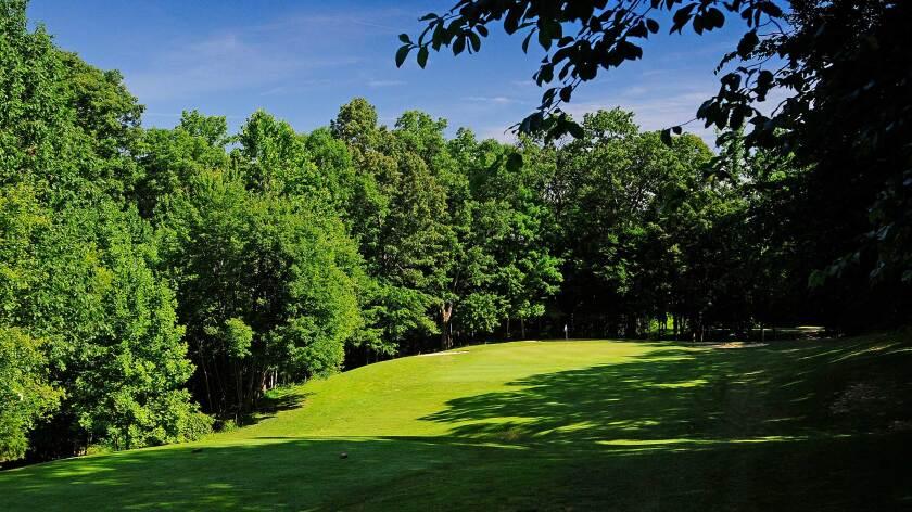Lake Ridge Golf Course, hole 8