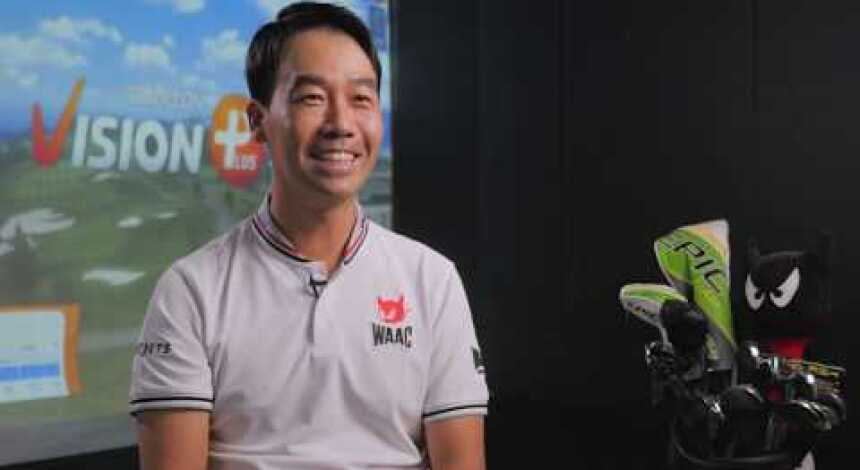 "5X PGA TOUR Winner Kevin Na's home GOLFZON 90"""