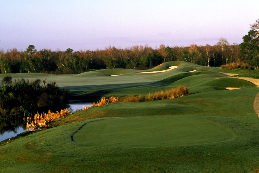 Indian River Preserve golf course in Mims, Florida